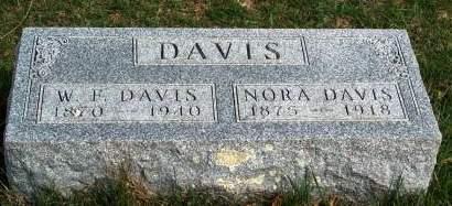 DAVIS, WILLIAM FRANKLIN - Madison County, Iowa   WILLIAM FRANKLIN DAVIS