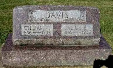 DAVIS, ALICE BELL - Madison County, Iowa | ALICE BELL DAVIS