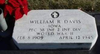 DAVIS, WILLIAM RUSSELL - Madison County, Iowa | WILLIAM RUSSELL DAVIS
