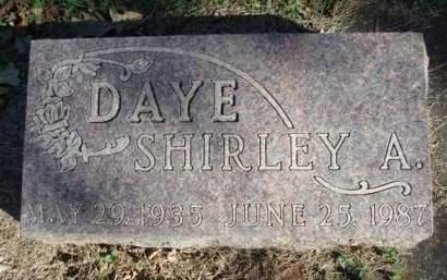 DAYE, SHIRLEY ANN - Madison County, Iowa | SHIRLEY ANN DAYE