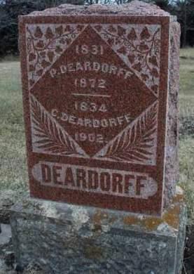 DEARDORFF, CATHERINE - Madison County, Iowa   CATHERINE DEARDORFF
