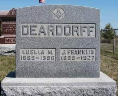 DEARDORFF, LUELLA M. - Madison County, Iowa   LUELLA M. DEARDORFF