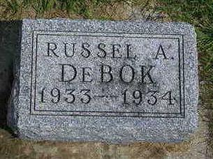 DEBOK, RUSSEL ALLEN - Madison County, Iowa   RUSSEL ALLEN DEBOK
