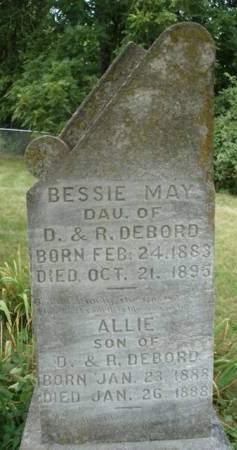 DEBORD, BESSIE MAY - Madison County, Iowa | BESSIE MAY DEBORD