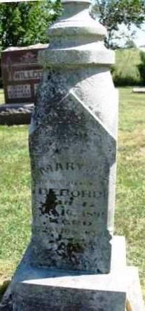DEBORD, MARY MARTHA - Madison County, Iowa | MARY MARTHA DEBORD