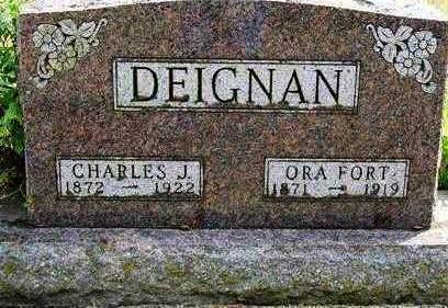 DEIGNAN, CHARLES J. - Madison County, Iowa | CHARLES J. DEIGNAN