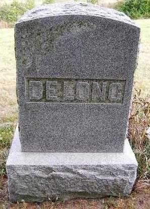 DELONG, FAMILY HEADSTONE - Madison County, Iowa | FAMILY HEADSTONE DELONG