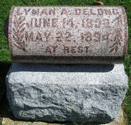 DELONG, LYMAN ALANZING - Madison County, Iowa | LYMAN ALANZING DELONG