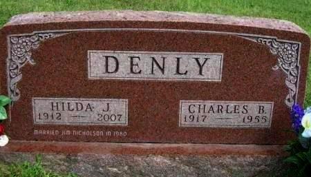 DENLY, CHARLES BENJAMIN - Madison County, Iowa | CHARLES BENJAMIN DENLY