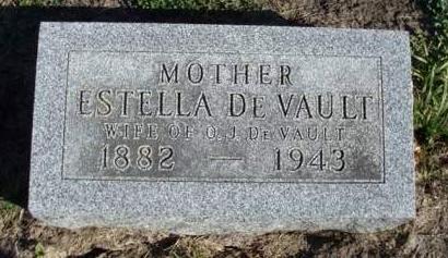 DEVAULT, MARGARET ESTELLA - Madison County, Iowa | MARGARET ESTELLA DEVAULT