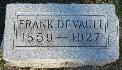 DEVAULT, BENJAMIN FRANKLIN (FRANK) - Madison County, Iowa | BENJAMIN FRANKLIN (FRANK) DEVAULT