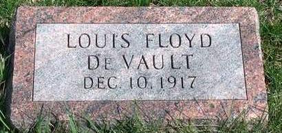 DEVAULT, LOUIS FLOYD - Madison County, Iowa | LOUIS FLOYD DEVAULT