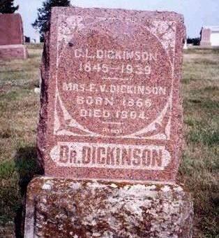 DICKINSON, FRANCES V. - Madison County, Iowa | FRANCES V. DICKINSON