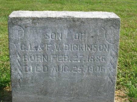 DICKINSON, ORA R. - Madison County, Iowa | ORA R. DICKINSON