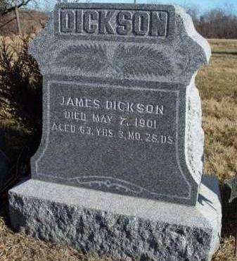 DICKSON, JAMES - Madison County, Iowa   JAMES DICKSON
