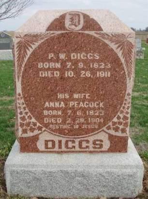 DIGGS, ANNA - Madison County, Iowa | ANNA DIGGS