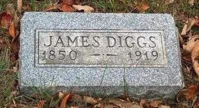 DIGGS, JAMES H. - Madison County, Iowa | JAMES H. DIGGS