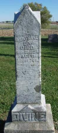 DIVINE, MARTHA J. - Madison County, Iowa | MARTHA J. DIVINE