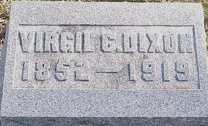 DIXON, VIRGIL C. - Madison County, Iowa | VIRGIL C. DIXON