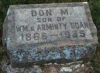 DOAN, DONBECK MCNEAL - Madison County, Iowa   DONBECK MCNEAL DOAN