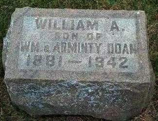DOAN, WILLIAM A. GARFIELD - Madison County, Iowa   WILLIAM A. GARFIELD DOAN