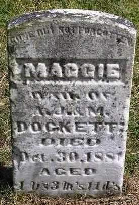 DOCKETT, MAGGIE - Madison County, Iowa | MAGGIE DOCKETT