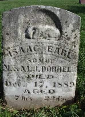 DORRELL, ISAAC EARL - Madison County, Iowa | ISAAC EARL DORRELL