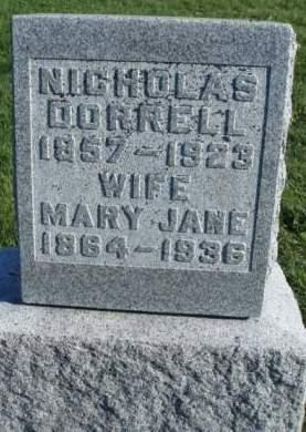 DORRELL, MARY JANE - Madison County, Iowa | MARY JANE DORRELL