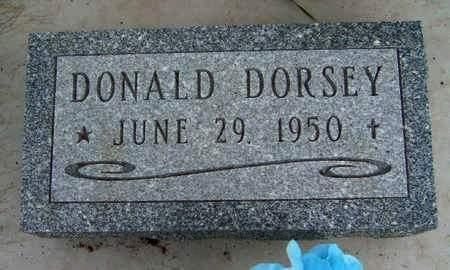 DORSEY, DONALD