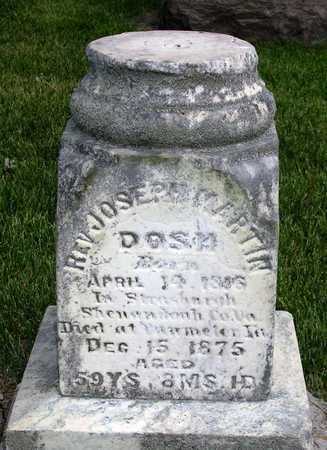 DOSH, JOSEPH MARTIN, REV. - Madison County, Iowa | JOSEPH MARTIN, REV. DOSH