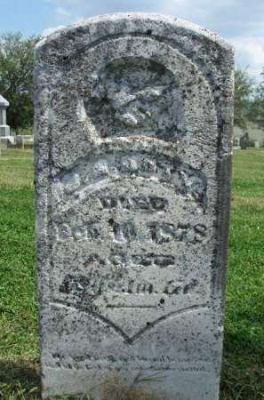 DOTY, JOHN BURNETT - Madison County, Iowa   JOHN BURNETT DOTY