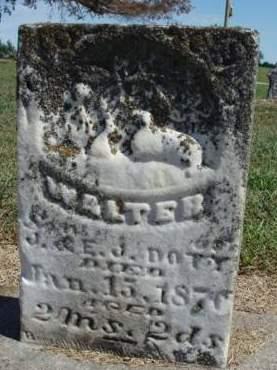 DOTY, WALTER EDWIN - Madison County, Iowa   WALTER EDWIN DOTY