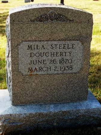 DOUGHERTY, MILHON OAKIE  (MILA) - Madison County, Iowa   MILHON OAKIE  (MILA) DOUGHERTY