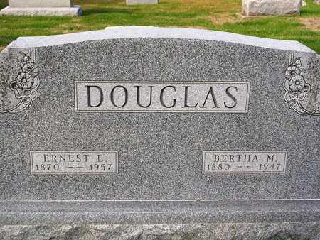DOUGLAS, ERNEST EDWIN - Madison County, Iowa | ERNEST EDWIN DOUGLAS