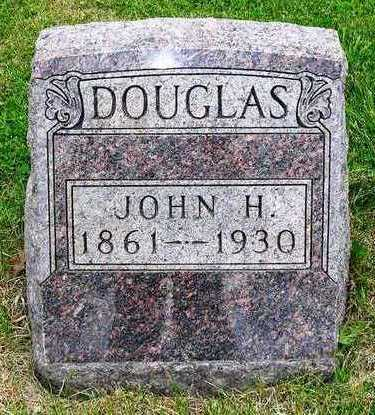 DOUGLAS, JOHN HOLMES - Madison County, Iowa   JOHN HOLMES DOUGLAS