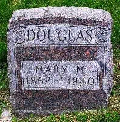 DOUGLAS, MARY MAY - Madison County, Iowa | MARY MAY DOUGLAS