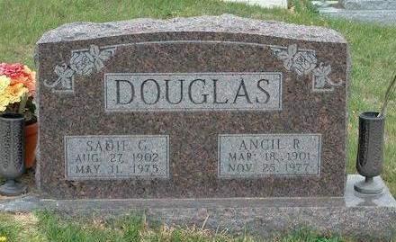 DOUGLAS, SADIE GLADYS - Madison County, Iowa | SADIE GLADYS DOUGLAS