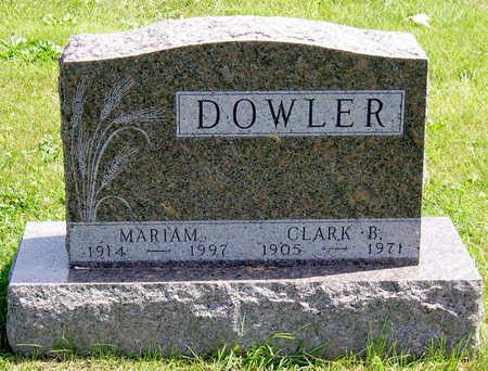 DOWLER, CLARK BENJAMIN - Madison County, Iowa | CLARK BENJAMIN DOWLER