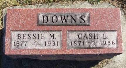 DOWNS, CASSIUS EDWARD