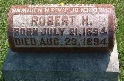 DOWNS, ROBERT  HIRAM - Madison County, Iowa | ROBERT  HIRAM DOWNS