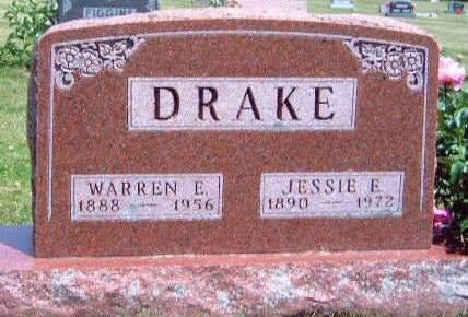 DRAKE, JESSIE E. - Madison County, Iowa   JESSIE E. DRAKE