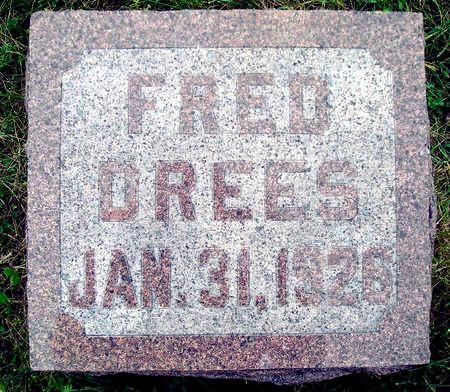 DREES, FREDERICK - Madison County, Iowa | FREDERICK DREES