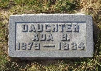 DRURY, ADA B - Madison County, Iowa | ADA B DRURY