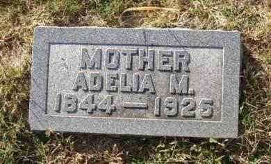 DRURY, ADELIA MARIA - Madison County, Iowa | ADELIA MARIA DRURY
