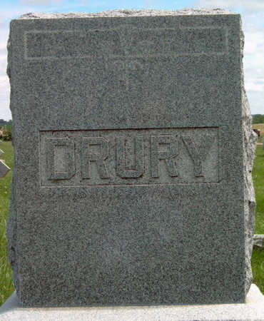 DRURY, FAMILY STONE - Madison County, Iowa | FAMILY STONE DRURY