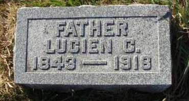 DRURY, LUCIEN CORNELIUS - Madison County, Iowa | LUCIEN CORNELIUS DRURY