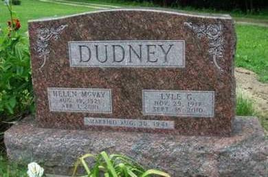 DUDNEY, LYLE GEORGE - Madison County, Iowa | LYLE GEORGE DUDNEY
