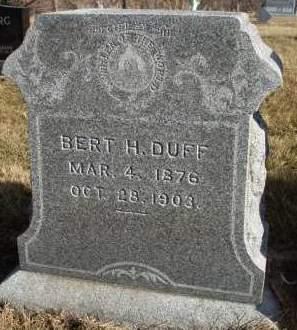 DUFF, BERT H. - Madison County, Iowa   BERT H. DUFF