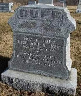 DUFF, DAVID - Madison County, Iowa | DAVID DUFF