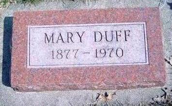 DUFF, MARY - Madison County, Iowa | MARY DUFF